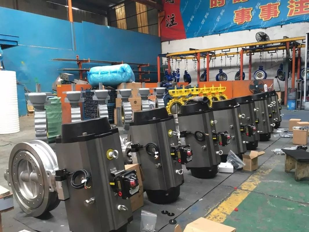 High Performance API 609 Butterfly Valve Double Eccentric For Petroleum And Natural Gas