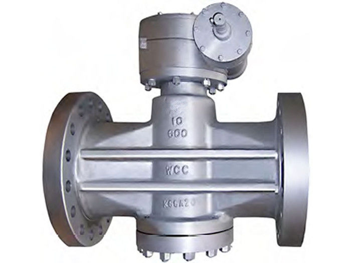 Self - Lubricating API 6D Plug Valve Pressure Balance Anti - Static ANSI B 16.10